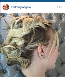 Andrea Glasgow at Platino Salon suites